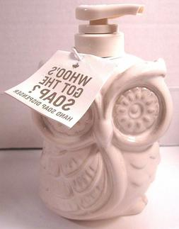 Bath & Body Works 16 oz Deep Cleansing Hand Soap Ceramic Owl