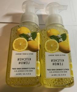 Bath And Body Works 3 Packs Of Kitchen Lemon Gentle Foaming