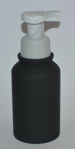 BATH & BODY WORKS BLACK MARBLE RESIN GENTLE FOAMING SOAP DIS