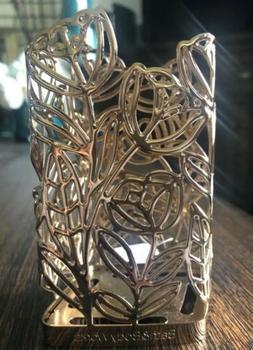 BATH & BODY WORKS GOLD TULIP FLOWER METAL GENTLE FOAMING HAN