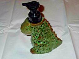Bath & Body Works GREEN DINOSAUR T-REX Foaming Hand Soap Dis