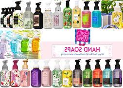 Bath & Body Works Hand Soap Gentle Foaming/Creamy Luxe/Aroma