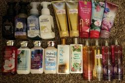 Bath and Body Works Lot Lotion Body Cream Fine Mist Shower G