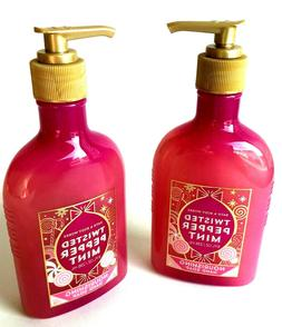 BATH & BODY WORKS NOURISHING HAND SOAP TWISTED PEPPERMINT 8