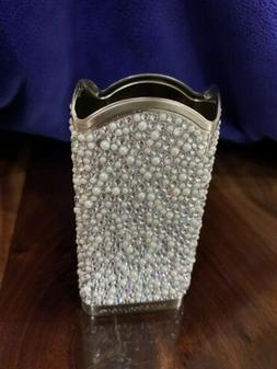 bath and body works pearl & crystal hand soap holder sleeve