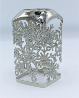 Bath & Body Works Silver Glitter Snowflake Foaming Hand Soap
