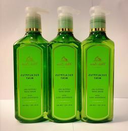 Bath & Body Works-White Barn-Eucalyptus Mint-Gentle Gel Hand