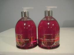 BATH AND BODY WORKS WINTER CANDY APPLE HAND SOAP WITH OLIVE