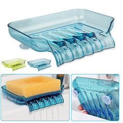 Bathroom Shower Soap Box Dish Storage Plate Tray Holder Case
