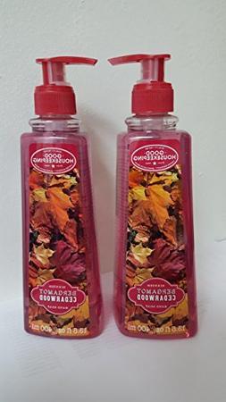 2 PK OF SIMPLE PLEASURES BERGAMOT CEDARWOOD HAND SOAP 13.5 O