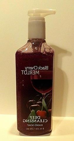 Bath & Body Works Black Cherry Merlot Deep Cleansing Hand So