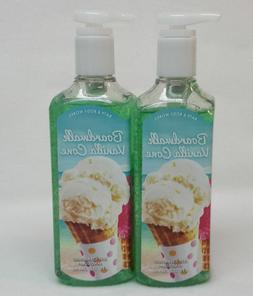 3 Bath & Body Works Boardwalk Vanilla Cone Deep Cleansing Ha