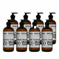 Home & Body Newport Hand Soap, 8-pack, Glass Refillable Bott