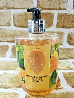 La Florentina CITRUS Liquid Hand Soap w/ OLIVE OIL 16.5 oz,
