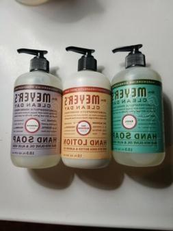Mrs. Meyers Clean Day 2 Hand Soap, Basil&lavender, 1 oat blo