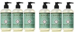 Mrs. Meyer's Clean Day Hand Soap, Basil, 12.5 fl oz, 6 ct
