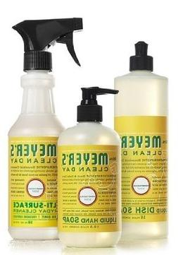 Mrs. Meyers Clean Day Honeysuckle Kitchen Basics Set