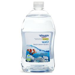 """EQUATE CLEAR HAND SOAP REFILL 56oz SAFER CHOICE """"Wash Away"""