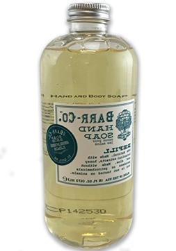 Barr-Co Soap Shop Hand and Body Refill - Spanish Lime