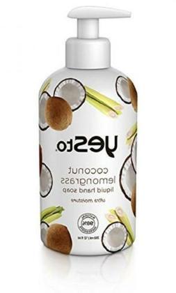 Yes to Coconut Lemongrass Liquid Hand Soap, 12 Fluid Ounce