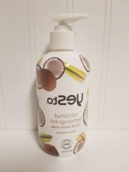 Yes To Coconut Lemongrass Liquid Hand Soap Ultra Moisture  N