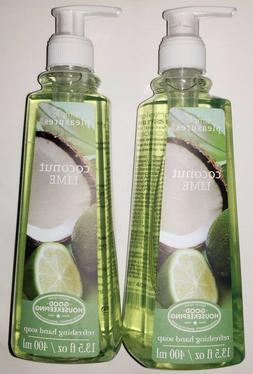 2 Pack Simple Pleasures Coconut Lime Refreshing Hand Soap 13