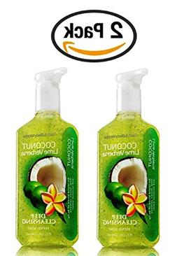 Bath & Body Works Coconut Lime Verbena Soap - Pack of 2 Zest
