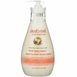 Live Clean Coconut Milk Moisturizing Liquid Hand Soap 17 oz
