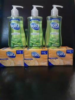 Dial Complete  Hand Soap 6 Gold Bars 3 Aloe Pump Bundled.
