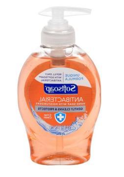 Softsoap Crisp Antibacterial Liquid Hand Soap, 5.5 oz Kills