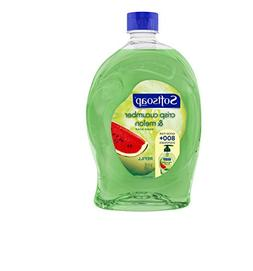 Softsoap Crisp Cucumber and Melon Liquid Hand Soap Refill, 5
