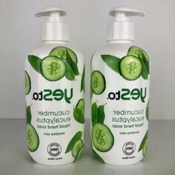 Yes To Cucumbers Cucumber Eucalyptus Liquid Hand Soap 12 fl