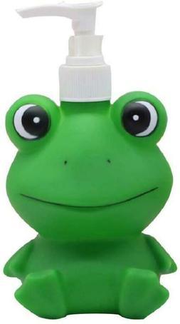 Cute Cartoon Animal Frog Hand Soap Dispenser for Bathroom Ki