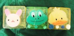 Cute Hand Soap- Animal Face- Baby Shower Party Favors- Duck,