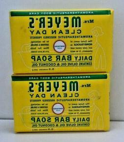 Mrs. Meyer's Daily bar soap, Honeysuckle, 5.3 oz