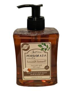 A La Maison de Provence 10 OZ Liquid Hand Soap Toasted Almon