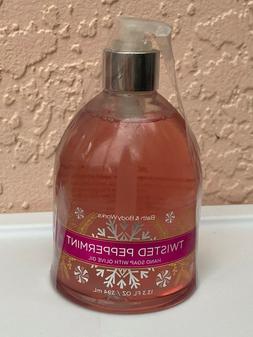 2 Bath & Body Work Decorative Hand Soap Twisted Peppermint w
