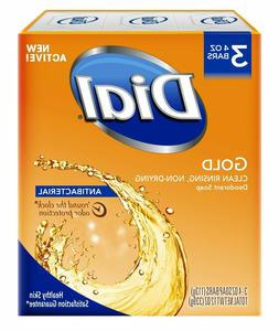 Dial Gold Deodorant Bar Soap For Hands - 113 G - Pack of 3 -