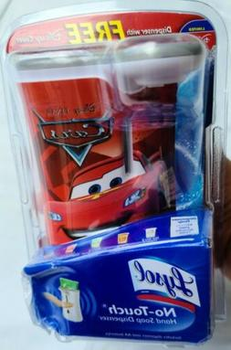Disney Pixar Cars Lysol No Touch Hand Soap Dispenser, New Se