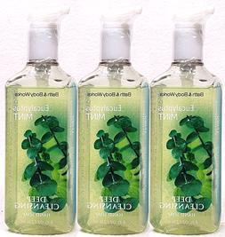 Bath & Body Works Eucalyptus Mint Deep Cleansing Hand Soap 8