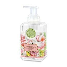 Michel Design Works Foaming Hand Soap Pink Flamingo Violet O