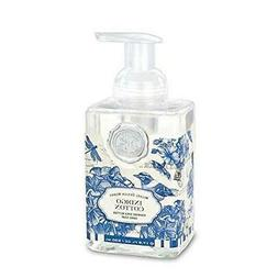 "Michel Design Works Foaming Hand Soap ""Indigo Cotton"" scente"