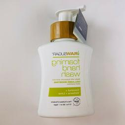 RAW SUGAR Foaming Hand Wash Coconut Verbena Lime 12oz Hand S