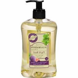 A La Maison French Liquid Soap - Fig and Basil - 16 oz