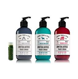 FROSTED CRANBERRY, SPARKLING MINT BLOSSOM & WINTER WHITE WOO
