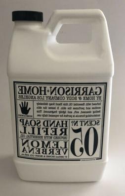 Garrison + Home Lemon Verbena Scent No. 05 Hand Soap Refill