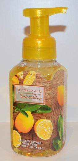 3 Bath & Body Works Gentle Foaming Hand Soap Sunshine & Lemo