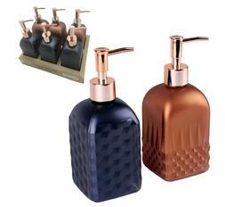 GL1700 Hand Soap Dispenser with Rose Golden Pump Head, 400ml