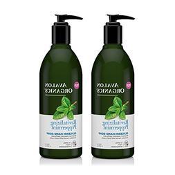 Avalon Organics Glycerin Hand Soap Peppermint With Organic P
