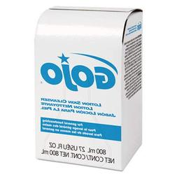 GOJOamp;reg; Lotion Skin Cleanser Refill, Liquid, 800ml Bag,